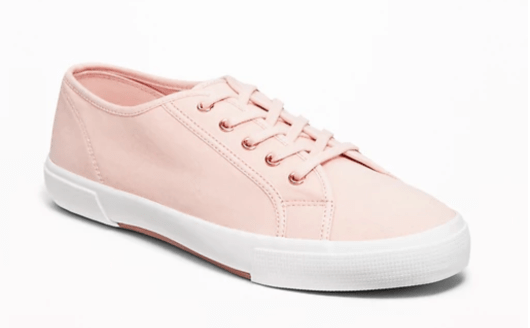 old navy canvas sneakers