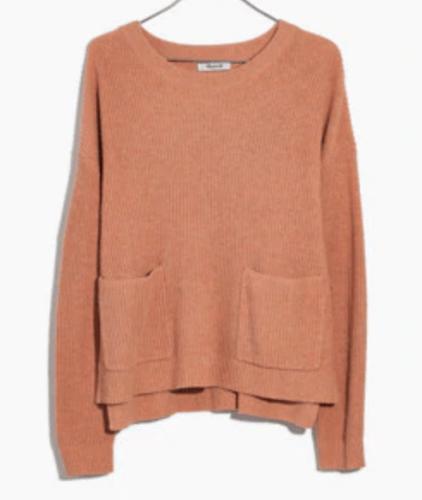 Madwell patch pocket sweater