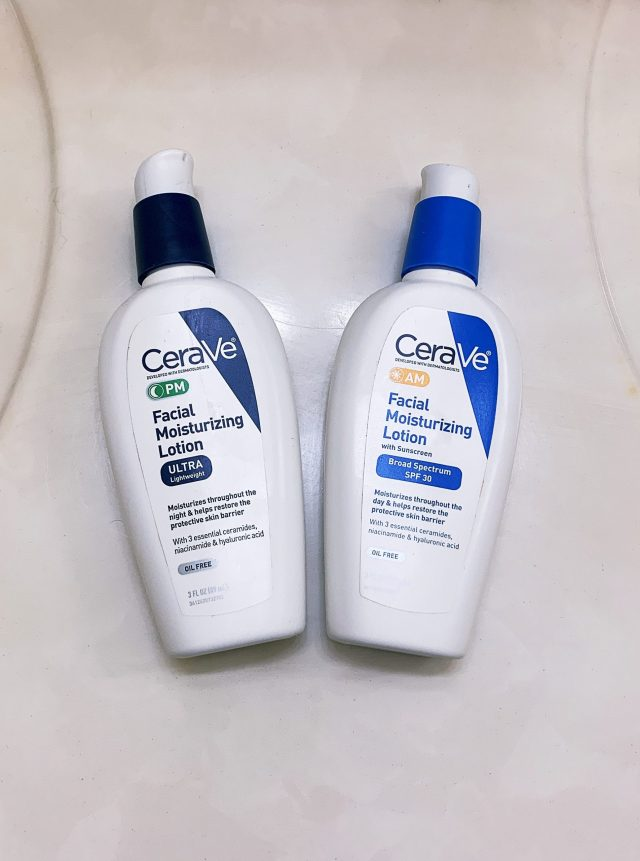 Cera Ve night and day moisturizer