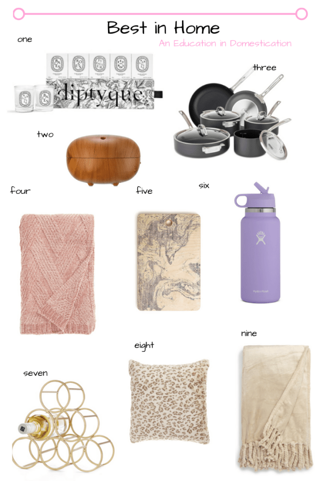 Nordstrom anniversary sale home items