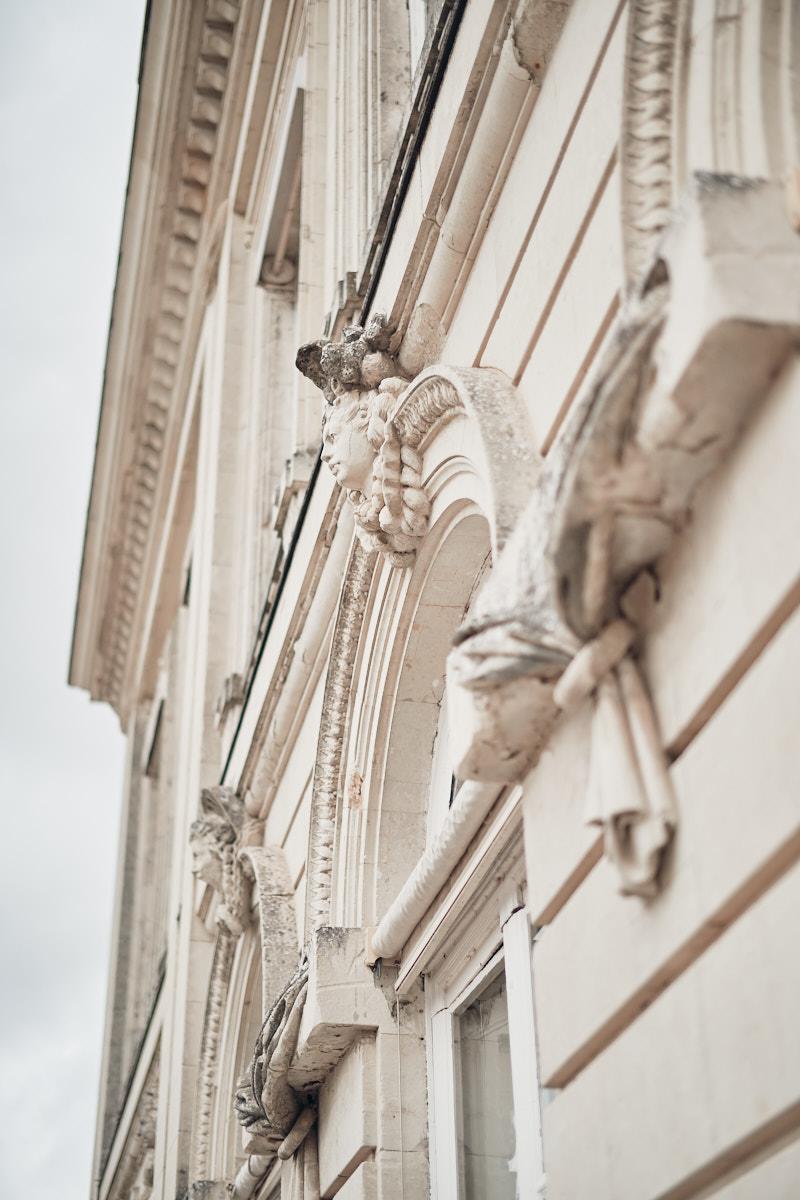 detail façade sud chateau craon