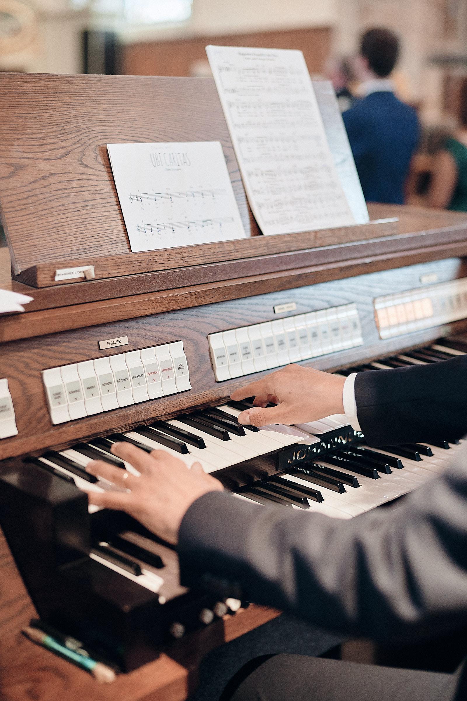 détail de l'orgue