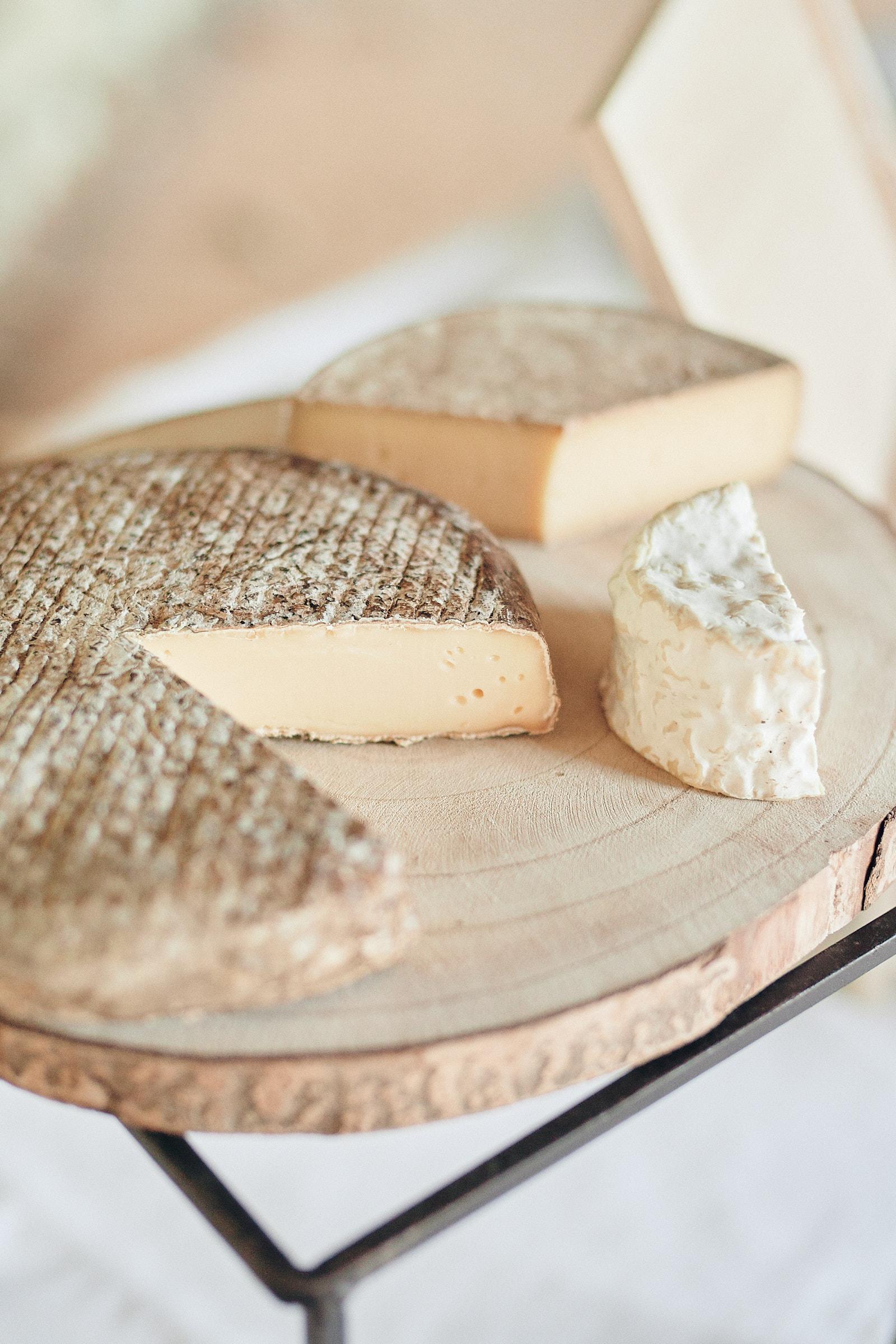 plateau de fromage pendant le vin d'honneur au chateau de craon