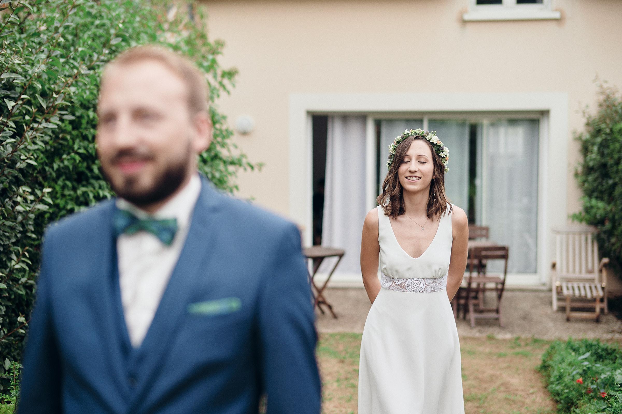 la mariee juste avant la decouverte avec le marie