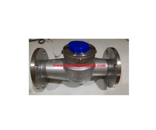 Jual Water meter SHM Stainless Steel 316L Type Vane
