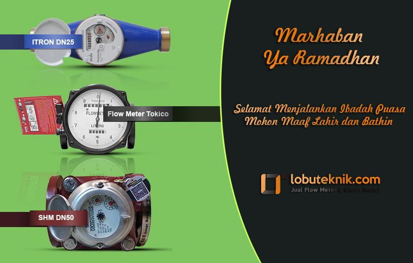 harga flow meter dan water meter