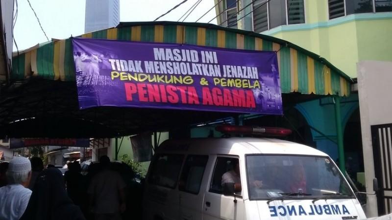 Ini Alasan Masjid Al Jihad Setiabudi Tolak Salatkan Pembela Penista Agama