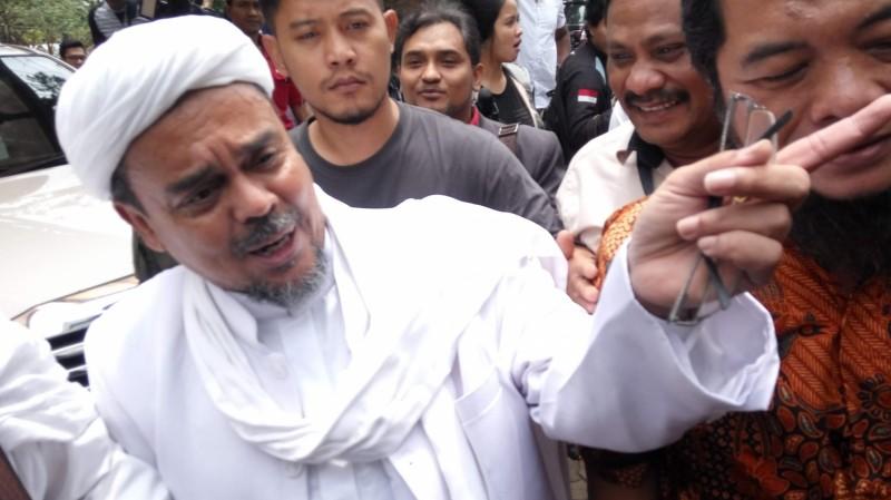 Rizieq Berharap Kapolda Metro yang Baru Hentikan Kasusnya