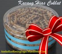 Jual Kue Kering Lebaran Kacang Hias Coklat