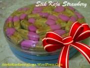 Jual Kue Kering Lebaran Stik Keju Strawbery