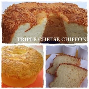 TRIPLE CHEESE CHIFFON