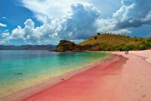 Pantai Pink Pulau Komodo