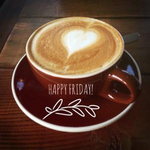 Happy Friday coffee photo