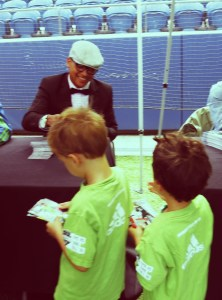 Meeting Yedlin with Seattle Sounders Camp