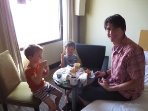 Family-friendly hotel in Yokohama