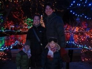 VanDusen Garden Christmas Lights