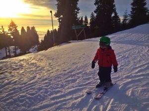 skiing at seymour