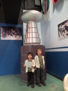 stanely cup model at bc sports hall of fame