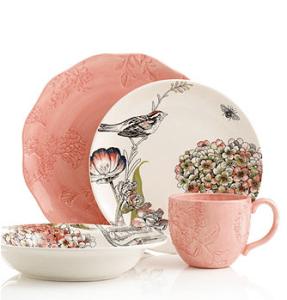 rachel bilson floral plates at macys