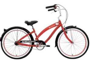hello kitty bike for women