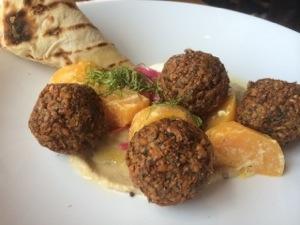 falafel dish at Matt's in the Market