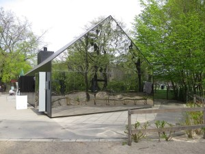 mirror house at copenhagen playground