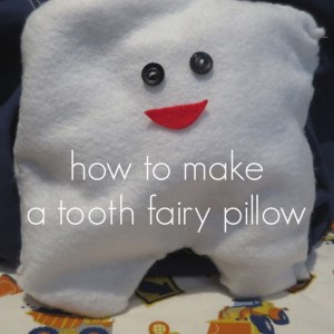 how to make a toothfairy pillow