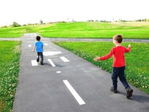 larry berg flight path park with kids