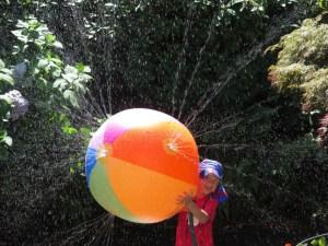 giant sprinkler ball