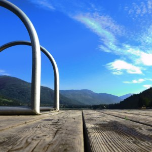 dock at alta lake in whistler
