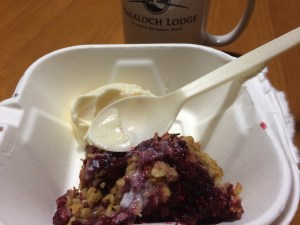take out dessert at Kalaloch Lodge