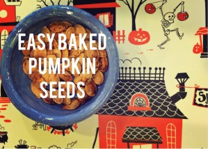 easy baked pumpkin seeds recipe