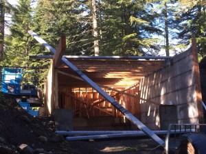 steel frame cabin building