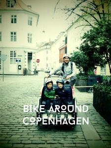renting bikes in Copenhagen with kids for 3 days