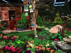 cool garden shed at the northwest garden show