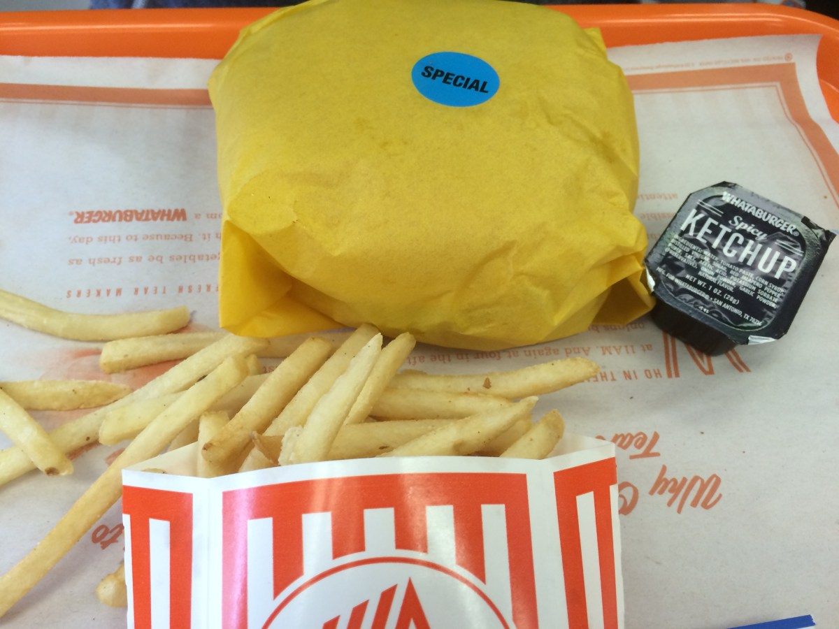 A really secret menu item at Whataburger (Dallas TX with kids)