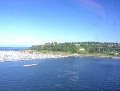 view of smith cove park from cruise ship