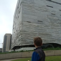 A rainy day at The Perot Museum (Dallas with kids)