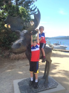 Coeur D'Alene with kids