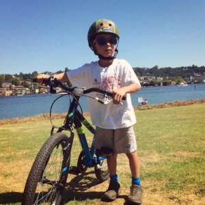 Seattle family bike rides