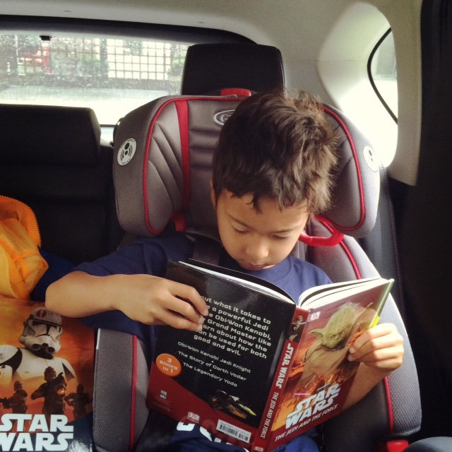 starwars books for 7 year olds