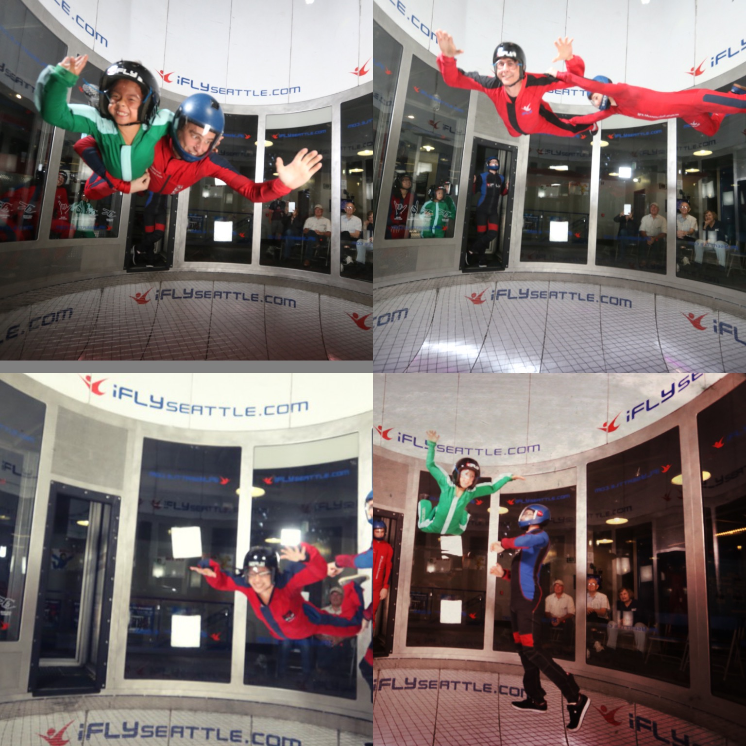 ifly seattle with kids