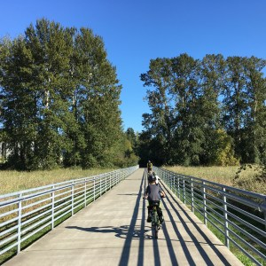 biking with kids from Marymoor Park to Woodinville