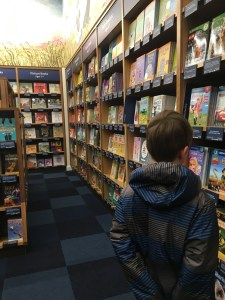 first day at Amazon Books in Uvillage Seattle