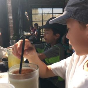 eating at el puesto la jolla with kids