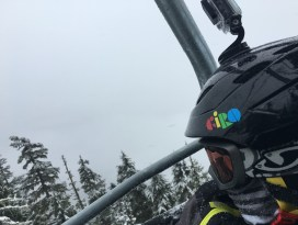 whistler chairlift with kids