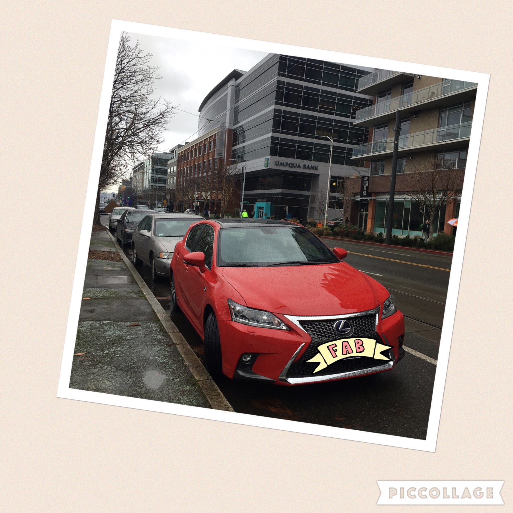 Where to take a pretty red car in Seattle Lexus CT Hybrid review