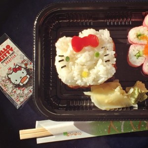 hello kitty hungry hunt sushi in seattle