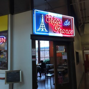 Crepe de France in Pike Place Market