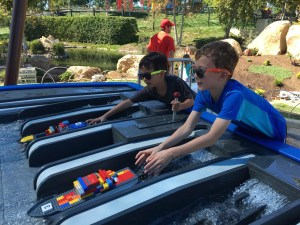 California Legoland with 7-year olds